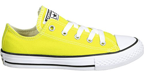 Junior Fresh Textile Converse Trainers All Star Chuck Taylor Yellow wqXvIAp