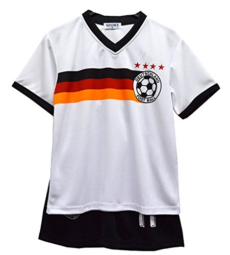 Fußball Sommer Shorts Jungen neu Mädchen-Weste Kit Set Größe Alter 2-12 Jahre BNWT (Alte Fußball-kits)