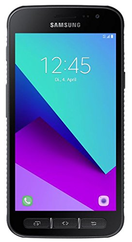 Samsung Galaxy Xcover 4 Smartphone (12,67 cm (5 Zoll) Touch-Display, 16 GB Speicher, Android 7,0 Nougat) schwarz (Galaxy Handy-apps Samsung)