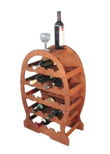 Cantinetta portabottiglie vino BOTTE legno 23posti