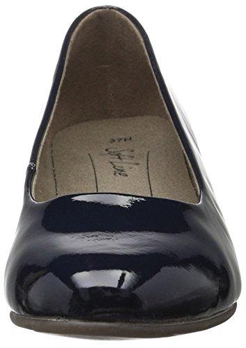 Softline 22360, Scarpe con Tacco Donna Blu (Navy Patent 902)