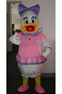 Disney Daisy Duck costume de mascotte de costume taille adulte
