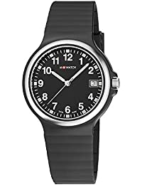 M-WATCH Maxi 38 Analog Black Dial Men's Watch-WYM.35220.RB
