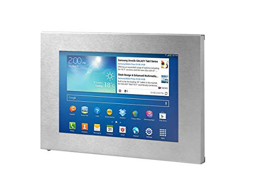 TabLines TSG005E Tablet Schutzgehäuse für Samsung Galaxy Tab3 10.1, edelstahl
