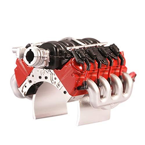 Preisvergleich Produktbild V8 LS3 Motor Kühler (Mit Lüfter) kompatibel mit Traxxas TRX-4 RC Auto Starten Sie Hood Fan