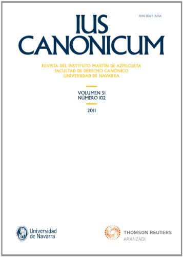 Ius Canonicum 102 (Monografía)