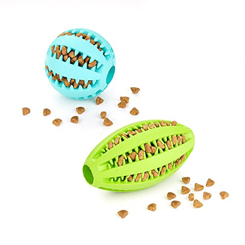 AMATHINGS Doppelpack (=2 Stück) Hundespielzeug Ball In… | 04260467942268