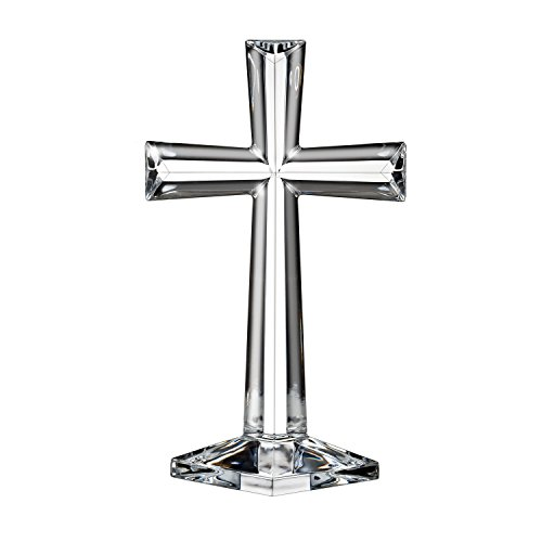 Waterford Marquis by Altar Cross Selah, stehendes Kreuz, 25 cm (10 Zoll) One Size Glas Waterford Crystal Cross