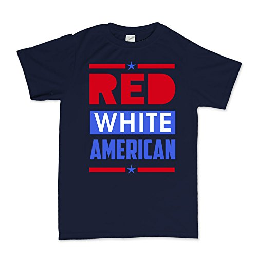 Red White Blue American Flag 4th of July Independence Day T-shirt (Day Independence T-shirts)