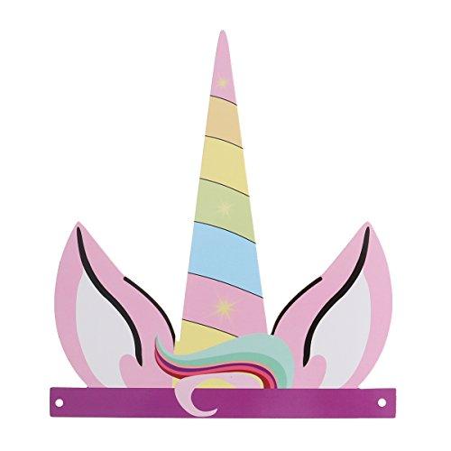 Einhorn Party Hüte Geburtstag Horn Hüte Einhorn Thema Partei Liefert für Kinder Erwachsene ()
