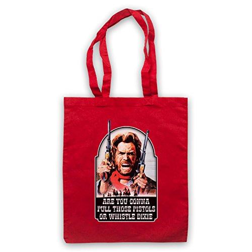 Inspiriert durch Outlaw Josey Wales Clint Eastwood Inoffiziell Umhangetaschen Rot