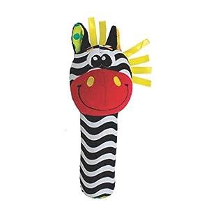 Playgro 40116-greifq uietsche Zebra, Multicolor