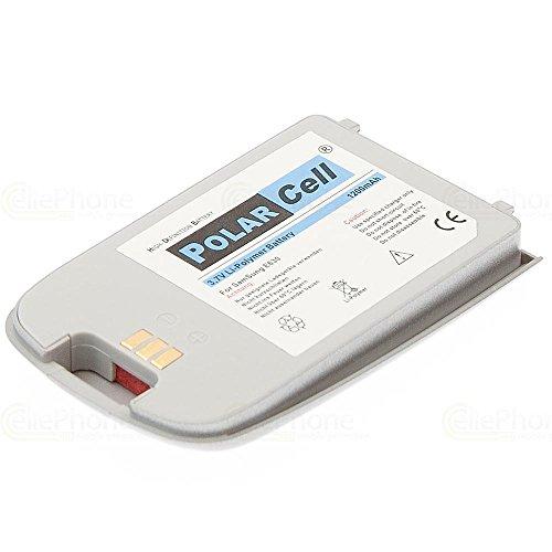 cellePhone PolarCell Akku Li-Polymer für Samsung SGH-E630 - silber ( ersetzt BST3258SE )