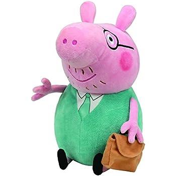 Ty peppa pig grande peluche papa pig jeux et jouets - Jeux de papa pig ...