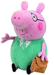 Ty peppa pig grande peluche papa pig jeux - Jeux de papa pig ...