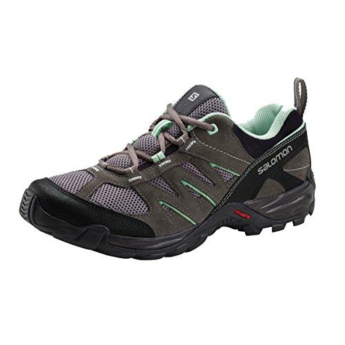 Salomon Redwood- Zapatos de trekking (UVP * 89,9536,0), color gris y azul