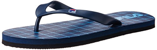 Fila Men's Cross Flip Navy and Blue  Flip Flops Thong Sandals -11 UK/India(45 EU)(12 US)  available at amazon for Rs.324