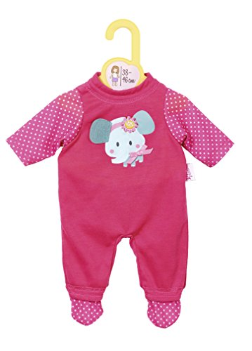 Zapf Creation 870082 Dolly Moda Kleid mit Eule 38-46 Puppen-Zubehör Baby born
