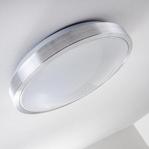 Plafoniera-rotonda-LED-Sora-Star-IP44-900-Lumi-12-Watt-luce-bianco-caldo