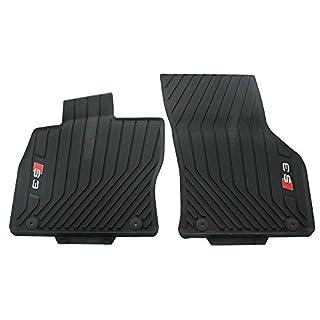 Audi 8V1061221B 041 Gummi Fußmatten Gummimatten 2X vorn schwarz Allwettermatten