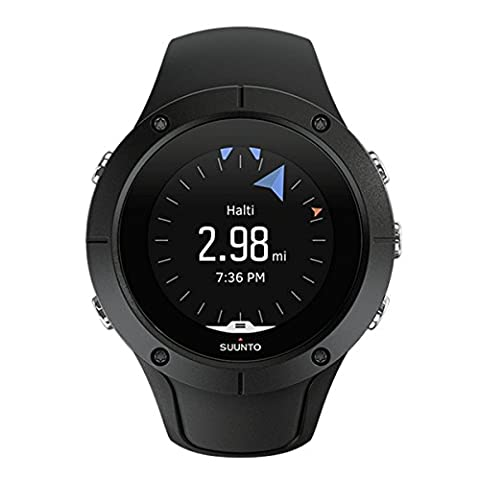 Suunto Spartan Trainer Wrist HR Black, Multisport GPS Watch (Unisex), 10h Battery Life, Waterproof to 50m, Wrist Heart Rate Monitor, Colour Display, Black, SS022668000