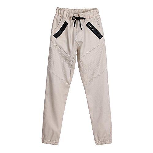 ZYUEER Hosen Herren Jeans Herrenmode Neue Leggings Bedruckte