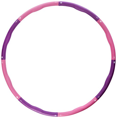 Hoopomania Light Hoop Hula hoop avec renfort mousse, 1,2 kg