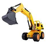 Dilwe RC Bagger, 5CH Full Functional Fernbedienung Bagger Baufahrzeug Bagger Traktor