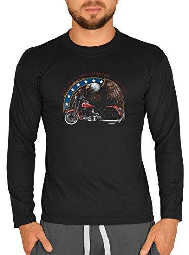 Biker / Motorrad Motiv Longsleeve : One life
