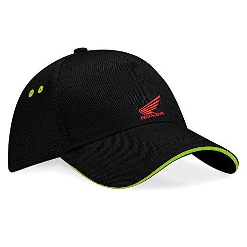 avstickerei-cappellino-da-baseball-uomo-nero-verde-taglia-unica