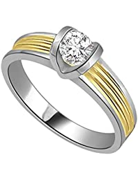 Surat Diamond 18k (750) Yellow Gold And Diamond Solitaire Ring