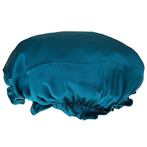 Damen Schlafmütze Nacht Mütze Hut Nachtmütze aus Seide Schlafhaube ver. Farbe -...