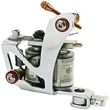 sourcingmap® 10-envuelve las bobinas moldeada herramienta del maquillaje Plancha Lineal tatuaje de la máquina del arma secante