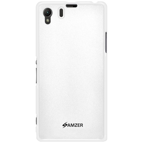 Amzer 96630 Pudding TPU Case - White for Sony Xperia Z1 L39h  available at amazon for Rs.336