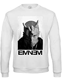 Felpa eminem rap hip hop satana diavolo f1013cba5ade