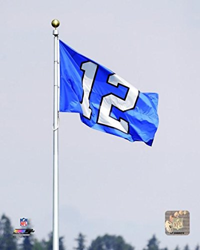 The Poster Corp Centurylink Field Seattle Seahawks 12th Fan Flag Photo  Print (50,80 x 60,96 cm)
