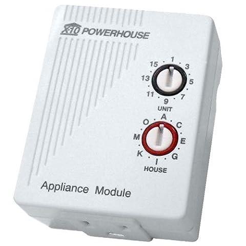 X10 AM466 Appliance Module, 3-Prong by X10