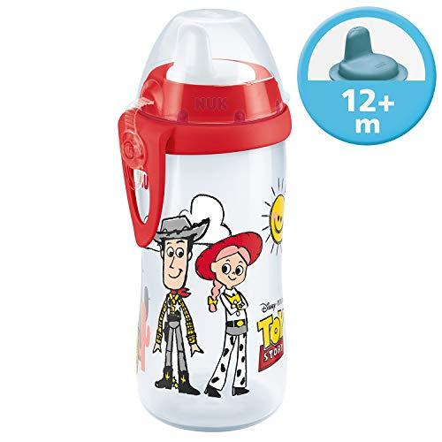 NUK Disney Pixar Toy Story Kiddy Cup Trinklernflasche, 12+ Monate, 300 ml, Woody & Jessie