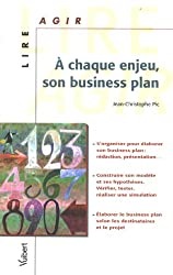 A chaque enjeu, son Business Plan