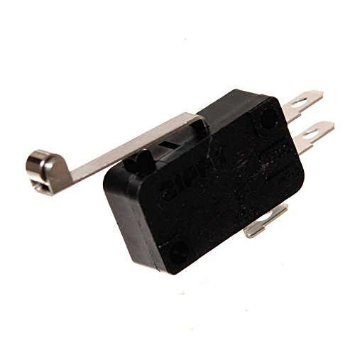 1 Zippy Microswitch Einbau-Taster Mikroschalter Öffner Schließer Wechsler Snap-Action Joystick Switch Neu Joy-Button (Schließer / Öffner mit Rolle) - Mikroschalter Snap