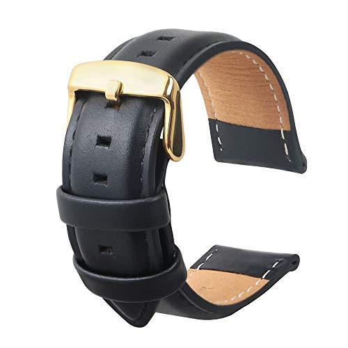 Uhrenarmband Fashion Panerai Herren Leder Ersatz Geeignet Für Traditionelle Uhren Zubehör Oder Sport Fashion Smart Armband Schwarz22MM