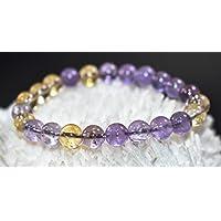 Bracelet Ametrine 8 MM Birthstone Handmade Healing Power Crystal Beads preisvergleich bei billige-tabletten.eu