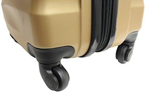 41x39iRqJhL - Maleta cabina 55cm - Trole ALISTAIR FLY - ABS extremista Ligero - 4 ruedas