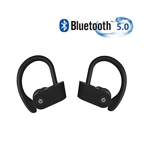 fghdjjfdh Cuffie Bluetooth 5.0, Auricolari Wireless in Ear Hi-Fi Stereo IPX5 Impermeabili, Cuffie...