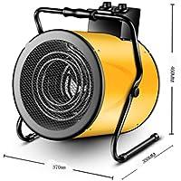 Aire Forzado Eléctrico Calentador De Ventilador Industrial 380V Tienda Garaje 9000W Calentador Impermeable con Soporte De
