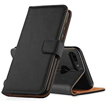 GeeRic Cover Huawei Honor 9 Lite, Flip Case Portafoglio Custodia in Pelle per Honor 9 Lite Guscio Telefono Soporto Chiusura Magnetica Nero