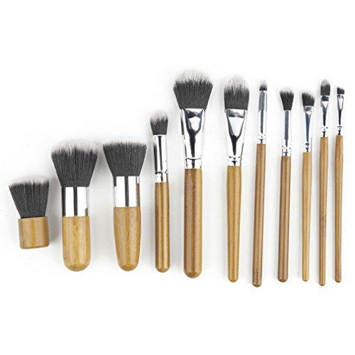 TataYang Make Up Pinsel Schmink Pinselset Etui Schminkpinsel Makeup Brush Set Kosmetik...