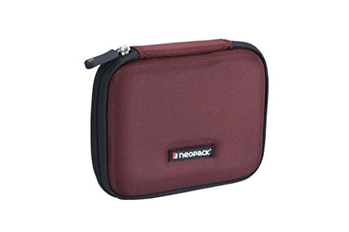 Neopack EVA Ultra HDD Hard Case /Cover /Pouch with Shockproof Lining for 2.5 inch Portable Hard Drive - Red (WD My Passport Ultra, Seagate Backup Plus, Transcend StoreJet, Toshiba Canvio, Sony)  available at amazon for Rs.349