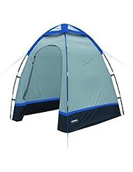 High Peak Aquadome Tente d'Appoint Multifonctionnelle Mixte Adulte, Bleu Clair/Bleu Foncé, L