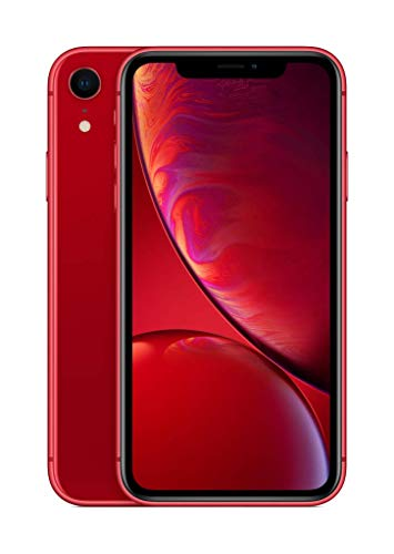 Apple iPhone XR 64GB Red (Renewed)
